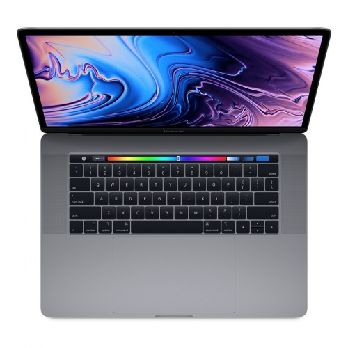 15-inch MacBook Pro with Touch Bar: 2.2GHz 6-core 8th-generation Intel Core i7 processor, 256GB - Space Gray