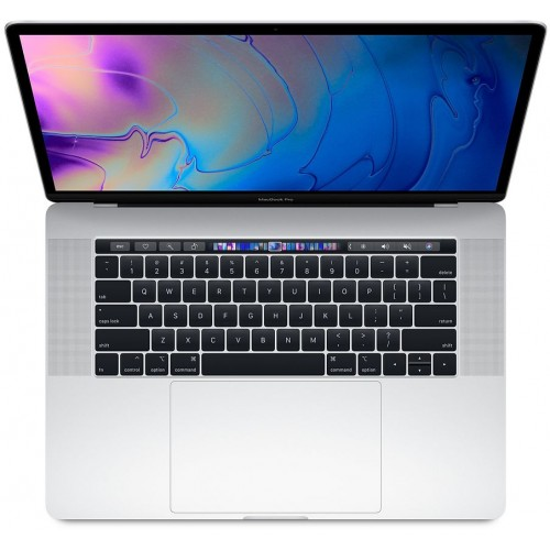15-inch MacBook Pro with Touch Bar: 2.6GHz 6-core 8th-generation Intel Core i7 processor, 512GB - Silver