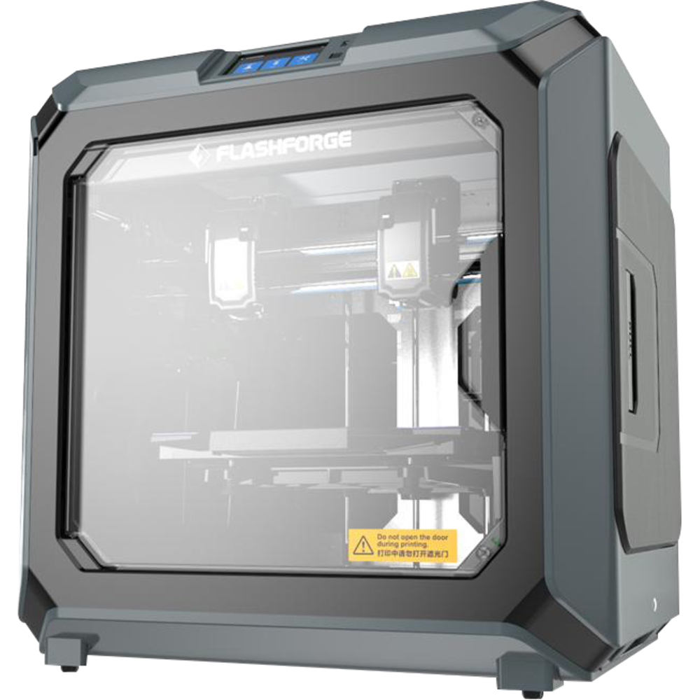FlashForge Creator 3 Independent Dual Extruder 3D Printer - Black-Gray