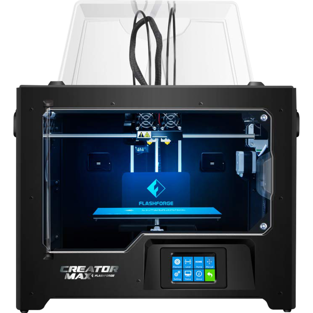 FlashForge Creator Max Dual Extruder 3D Printer - Black