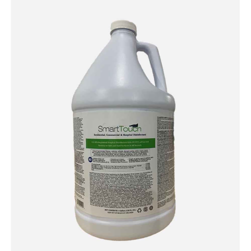 SmartTouch®, hospital grade disinfectant, 1 Gallon, Case of 4